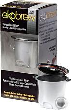Ekobrew Elite Reusable K-Cup Filter for Keurig 2.0 & 1.0 Brewers Stainless Steel