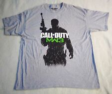 Call of Duty MW3 Gray T-Shirt by Activision Size XXL Pre-owned Gray Short Sleeve