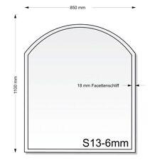 Glasbodenplatte S13 850 x 1100 mm Kaminplatte Ofenplatte Funkenschutz Neu Glas