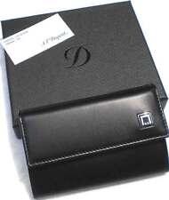 NEW S.T. DUPONT BLACK LEATHER D-Line 6 KEYs HOLDER 95000