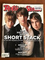 ROLLING STONE AUSTRALIA DEC 2010 Short Stack, My Space, Kings of Leon, Mad Men