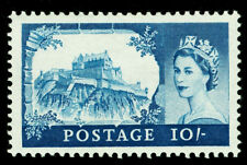 Sg597, 10s blue, M MINT. Cat £55. DE LA RUE.