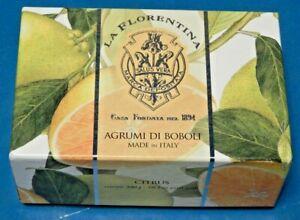 La Florentina Agrumi di Boboli Italian Bar Soaps Citrus Scent in Gift Box