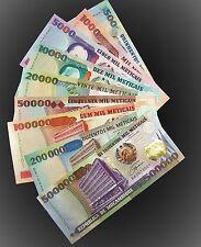 New listing Mozambique Full Set Of 9 Banknotes 500-500000 Meticais Unc P134-142-currency