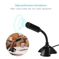 USB Condenser Microphone Mic Studio Sound Recording For Skype Laptop Computer ZZ