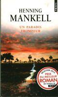 Livre poche un paradis trompeur Henning Mankell book