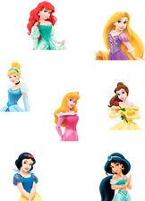 Disney Princess Cake Topper Sheet A4 Edible Printed Iced Sheet - Not precut