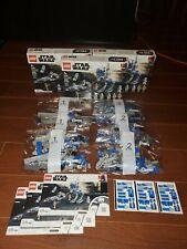 Lego Star Wars 3x 75280 501st Clone AT-RT BARC SPEEDER LOT *NO FIGS* Bulk