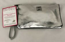 Liz Claiborne Phone Charging Wrist Wallet Wristlet Android or iPhone Silver New
