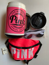 Pink Victoria's Secret Spring Break 24oz Chug Mug Cup Sunglasses Pink Fanny Pack