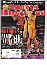 Derrick Rose Chicago Bulls Sports Illustrated April 18, 2011