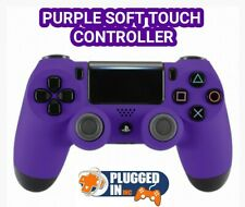 SONY PS4 PLAYSTATION 4 PURPLE SOFT TOUCH CONTROLLER, .... BRAND NEW