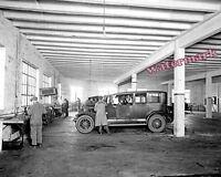 Historical Photograph Hackett Motor Car Repair Engines 1915c 8x10