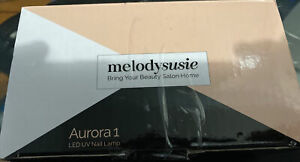 MelodySusie Portable UV LED Nail Lamp Compact Gel Dryer Light WhiteNO POWER CORD