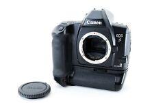 Canon EOS-3 EOS 3 35mm SLR Film Camera + PB-E2 Moter Drive From JAPAN Near Mint