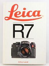 Hove Camera Manual Book for Leica R7 Camera. By Arthur Landt