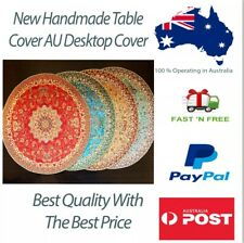 New Handmade Table Cover Desktop Cover Cloth All Natural Colours No Chemical AU