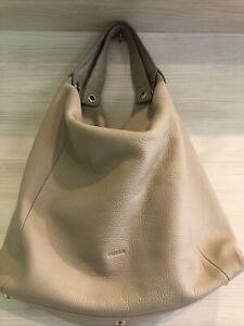 Furla Beige Hobo Bag