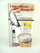 New ListingNew Sealed Box Vintage Chrome Hamilton Beach 730C Classic Drink Master Blender
