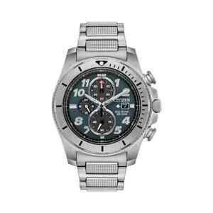 NEW Men's Citizen Eco-Drive Promaster  Tough Chronograph 43mm Watch CA0720-54H