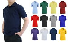 School Uniform Polo for Boys Choose Shirts Color - Sizes 4-20 NWT FREE SHIPPING