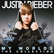 "JUSTIN BIEBER ""MY WORLDS THE COLLECTION"" 2 CD NEW+"