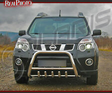 NISSAN X-TRAIL 2010+ LOW BULL BAR, NUDGE BAR, A BAR + GRATIS!!! STAINLESS STEEL