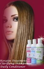NANOBEAUTY BRAZILIAN KERATIN TREATMENT BLOW DRY HAIR STRAIGHTENING  250ML KIT