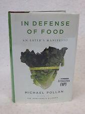 Michael Pollan IN DEFENSE OF FOOD Penguin Press 2008 SIGNED