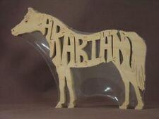 Arabian Horse Wood Amish Made Tack Room Puzzle Toy
