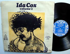 IDA COX VOLUME 1 Lp FOUNTAIN VINTAGE BLUES