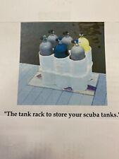 New listing scuba tank rack