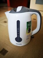 Philips energy efficient kettle - 3000 watts - 1.7L - white/grey