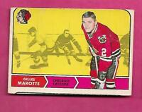1968-69 OPC # 82 HAWKS HOWIE YOUNG VG CARD  (INV# A9291)