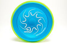 Nine Dragons Yoyo Color Blue with Green Cap by YoYoFactory NEW LIMITED RELEASE