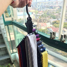 Adjustable Rotating Tie Holder Belt Scarf Organizer Compact Hanger Rack Hook