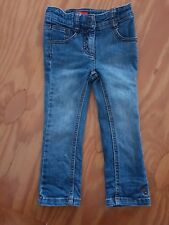 ESPRIT toddler girl denim skinny leg jeans size 2 adjustable waist #062