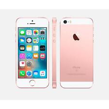 Teléfonos móviles libres Apple iPhone SE de color oro rosa con 64 GB de almacenaje