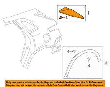Cadillac GM OEM 17-18 XT5 Exterior-Rear-Center Molding Right 23201829