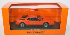 Voitures miniatures orange en plastique MINICHAMPS
