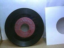 Old 45 RPM Record - RCA Victor 49-1353 - Mario Lanza - Be My Love / I'll Never L