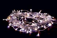 Lumières 120 LED 12 MT Blanc Chaud Ou Froid Choix Lumières Noël de Noel