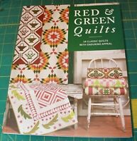 Red & Green Quilts Martingale 14 Quits Classic Quilts With Enduring Appeal