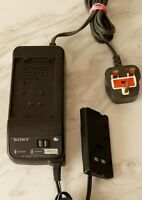Genuine Sony AC-V15 AC Power Adaptor Charger For HandyCam CamCorder