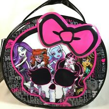 Monster High CREEPY COOL COSMETIC BAG - Round Purse Handbag NEW Not Doll Size