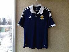 Scotland 2012/2013/2014 Adidas Jersey Home football shirt L Soccer Camiseta