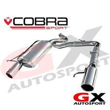 BM62 Cobra Sport BMW 318D & 320D E90 Saloon 05-11 Dual Exit Rear Exhaust Backbox