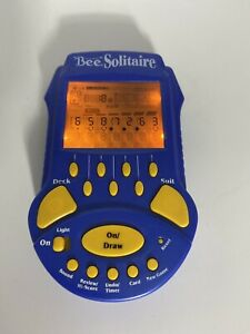 Bee Solitaire Handheld Electronic Game Techno Source Lighted 2004 TESTED