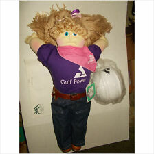 cabbage patch soft sculptured doll 1995 babyland hospital ed georgia power girl