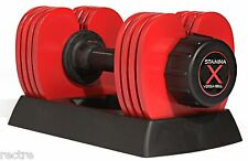Stamina X VERSA-BELL 10-50 lb. -Adjustable Weight Dumbbell- + 60 DAY RETURNS!